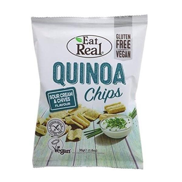 Eat Real chips od kinoe sa kiselim kremom i vlašcem 22g