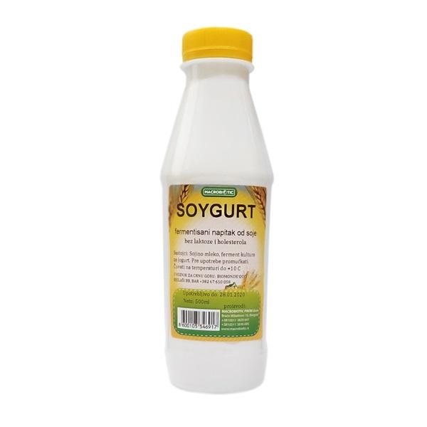 Jogurt od soje Macrobiotic 500ml
