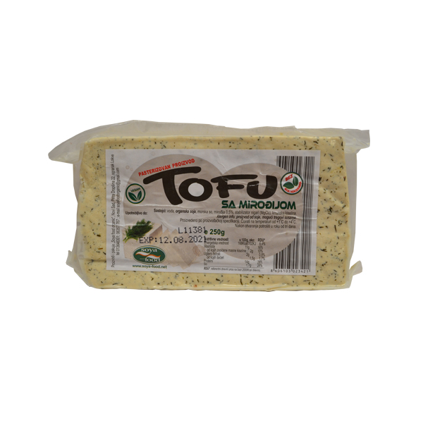 Tofu sir sa mirođijom Soya Food 250g