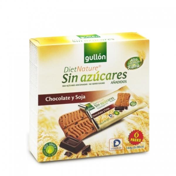 Gullon Keks soja čokolada bez šećera 144g