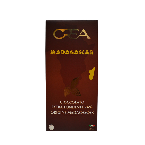 Tamna čokolada 74% kakaoa Madagaskar Crea 100g
