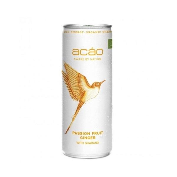 Energetsko piće sa aromom tropskog voća i đumbira Acao 250ml
