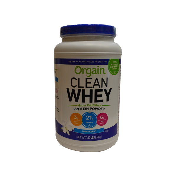 Orgain Whey protein vanila 828g