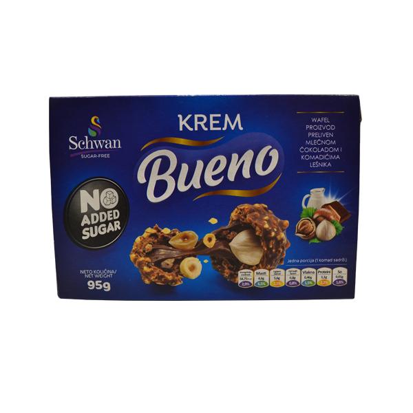 Krem bueno bez šećera Schwan 95g