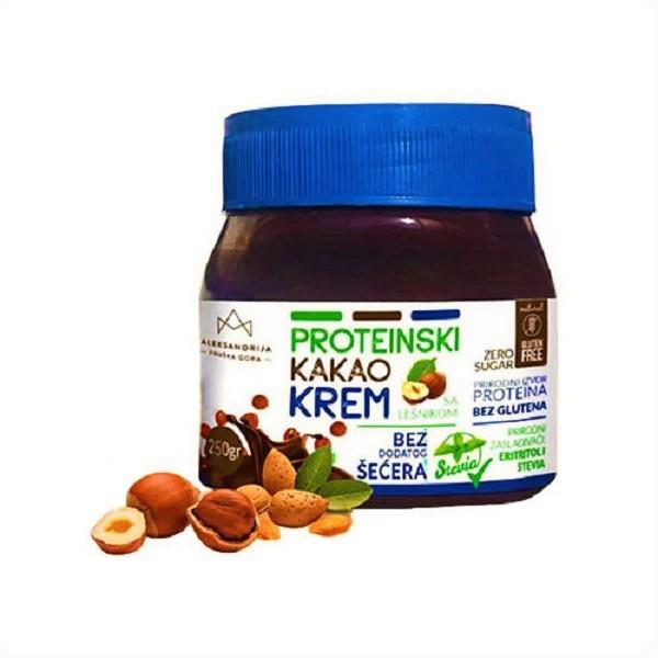 Proteinski kakao krem bez šećera Aleksandrija 250g