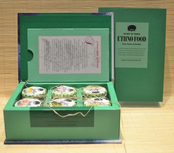 ETHNO FOOD Herba Sirupi (med) kartonska poklon kutija 6x50 g