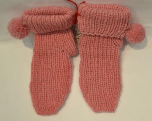 Dečije čarape sa kićankama 1