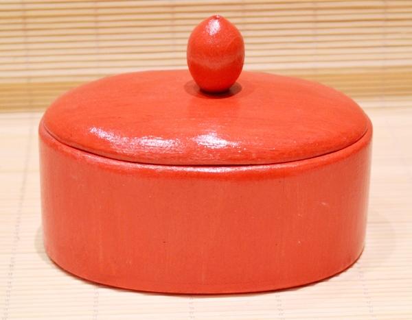 Drvena kutija ovalna manja 1