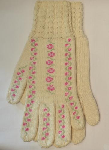 ETHNO CRAFT duge pamučne rukavice sa vezom 1