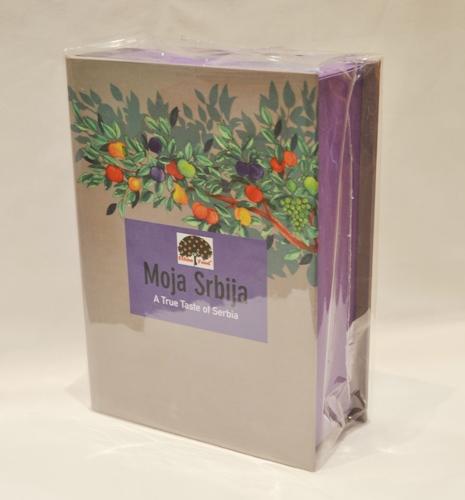 ETHNO FOOD Suvenir kartonska poklon kutija Moja Srbija 6x50 g
