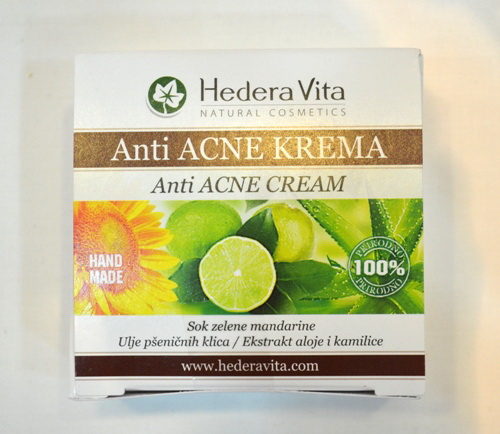 Hedera - Anti Acne krema 50g