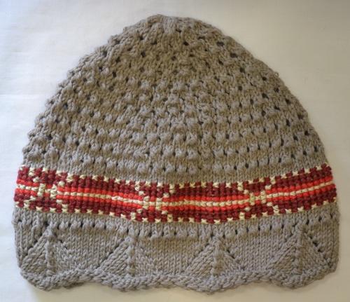 Ručno pletena kapa 1