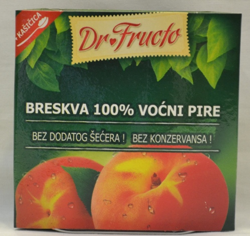 Voćni pire Breskva 100 g