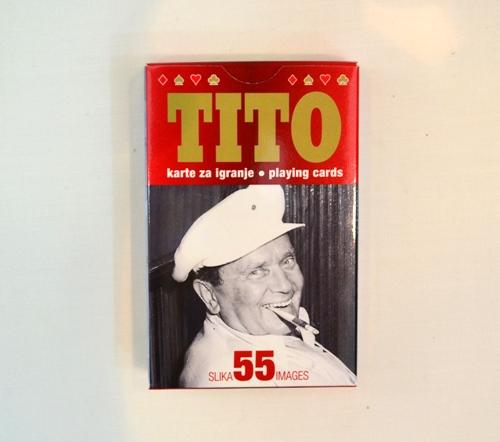 Špil karata za igru Tito suvenir