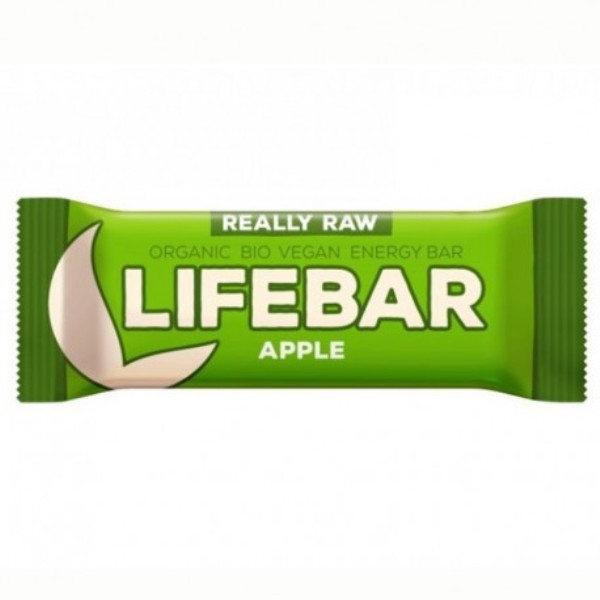 Lifebar desert od suve jabuke organic LifeFood 47g