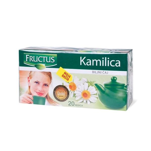 Fructus  Kamilica filter čaj 20g