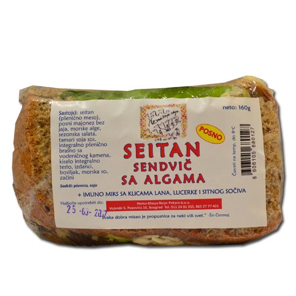 Sejtan sendvič sa Algama 180g
