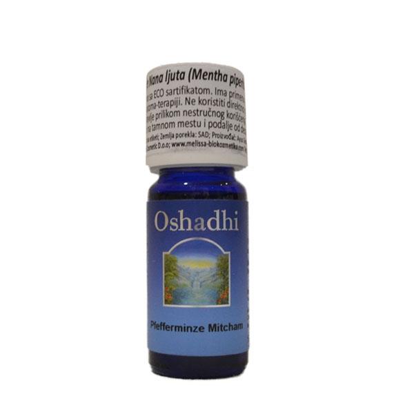 Oshadhi eterično ulje Nana ljuta,pitoma 10ml