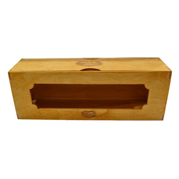 Drvena kutija za teglice Blago Šumadije Box 4 kom