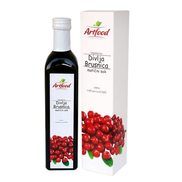 Matični sok Brusnice Artfood 500ml