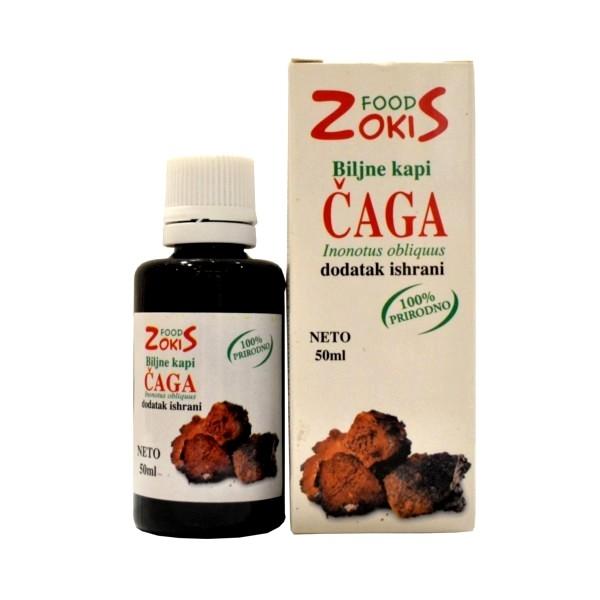 Čaga gljiva kapi ZokiS Food 50ml