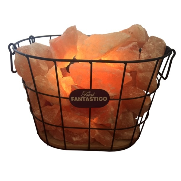 Lampa od himalajske soli - Vatrena korpa 15kg