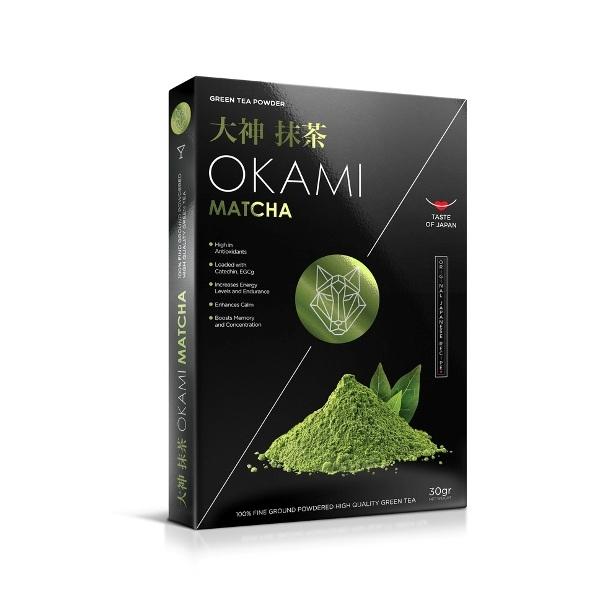 Matcha zeleni čaj  u prahu  Okami 30 g