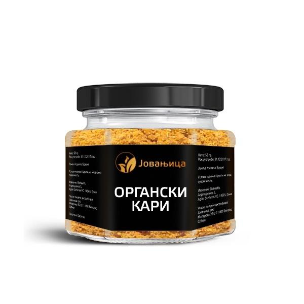 Kari organic Jovanjica 52g