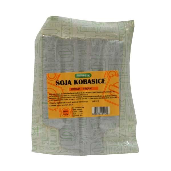 Kobasice od soje Macrobiotic 200g
