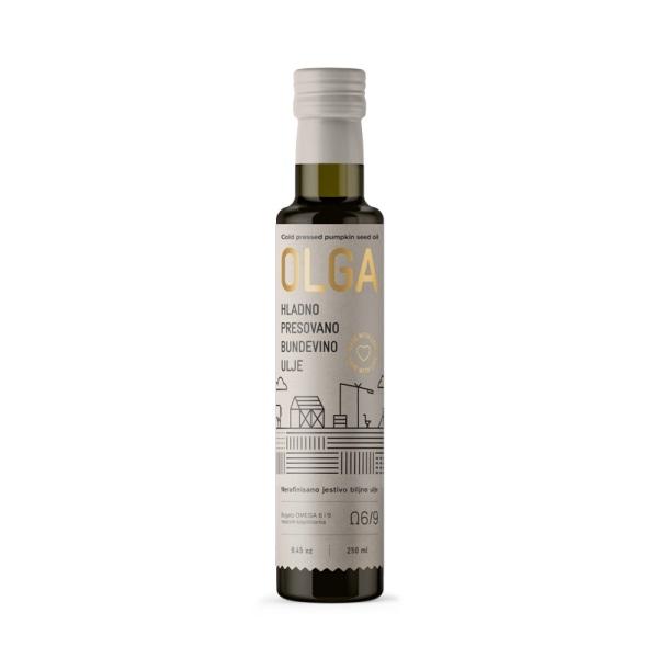 Hladno presovano bundevino ulje Olga 250ml
