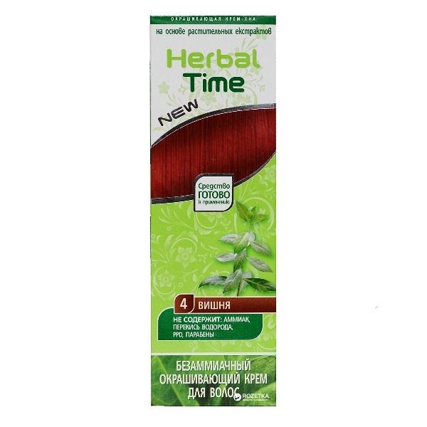 Herbal Time kana u gelu 4 višnja 75ml