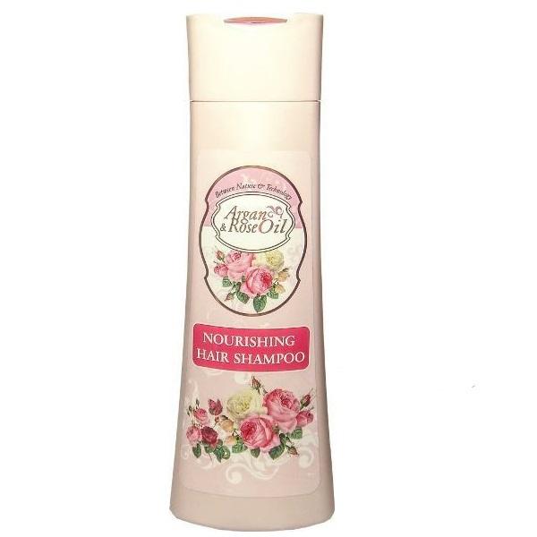 Argan & Rose oli Hranljivi šampon za kosu 200ml