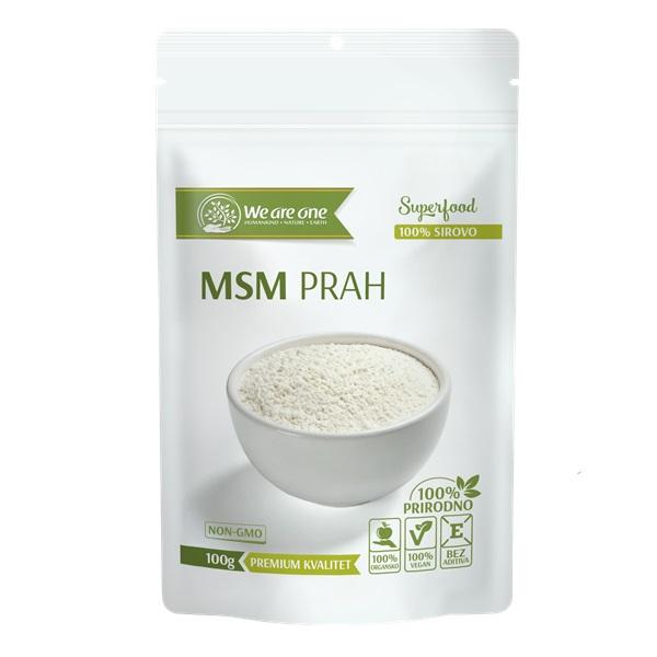 MSM PRAH Superfood 100g