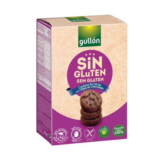 Gullon Keks sa komadićima čokolade bez glutena 200g