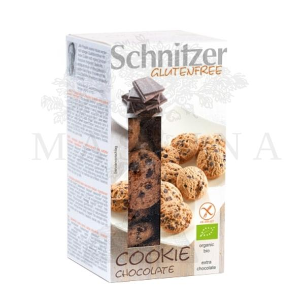 Schnitzer organski čokoladni keks bez glutena 150g