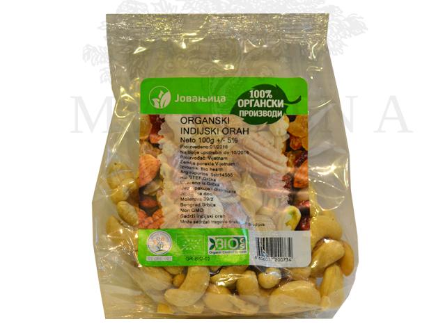 Organski indijski orah Jovanjica 100g