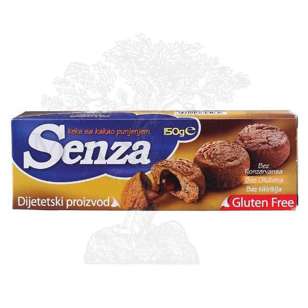 Senza-čoko keks /bez glutena/ 150g