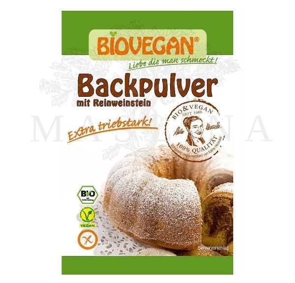 Organski prašak za pecivo bez glutena Biovegan 17g