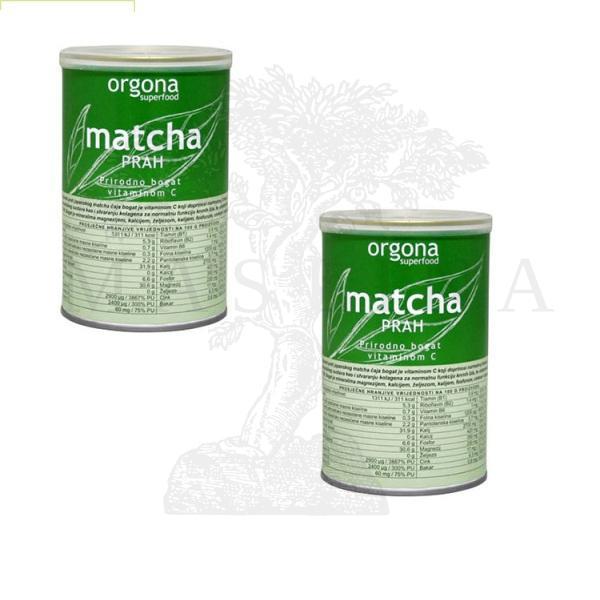 Matcha prah Orgona 100g