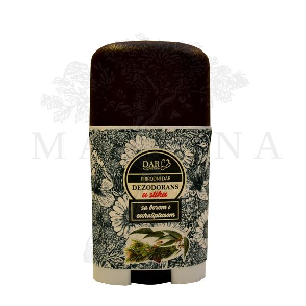 Dar kozmetika dezodorans u stiku sa borom i eukaliptusom 30ml