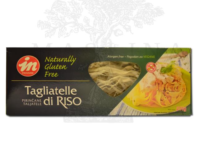 Pirinčane taljatele bez glutena In proizvod 210g