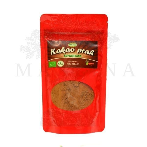 Organski sirovi kakao prah Vegana 150g