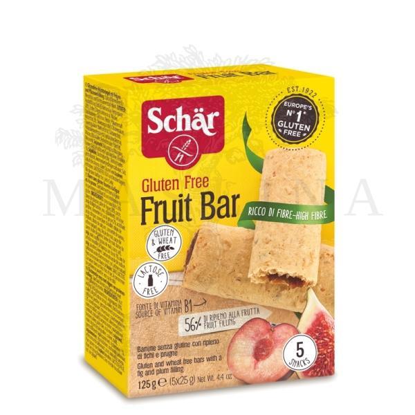 Schar Fruit bar voćni keks punjen sa smokvom i šljivom 125g
