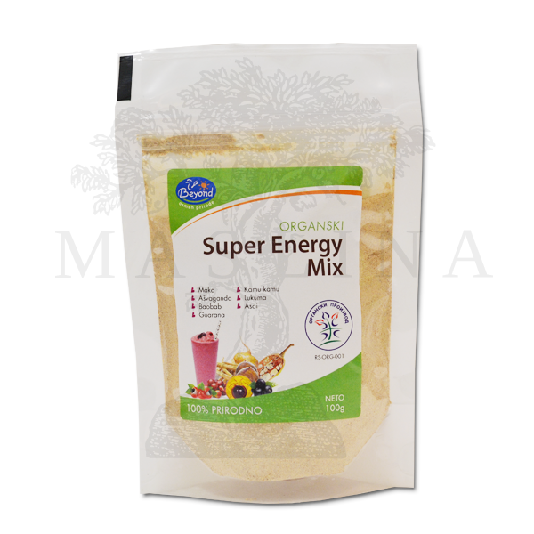 Organski Super energy miks Beyond 100g