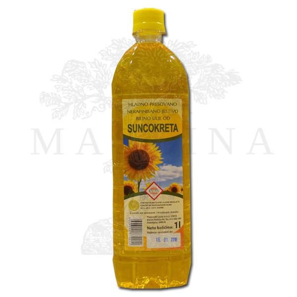 Suncokretovo ulje 1l Uvita
