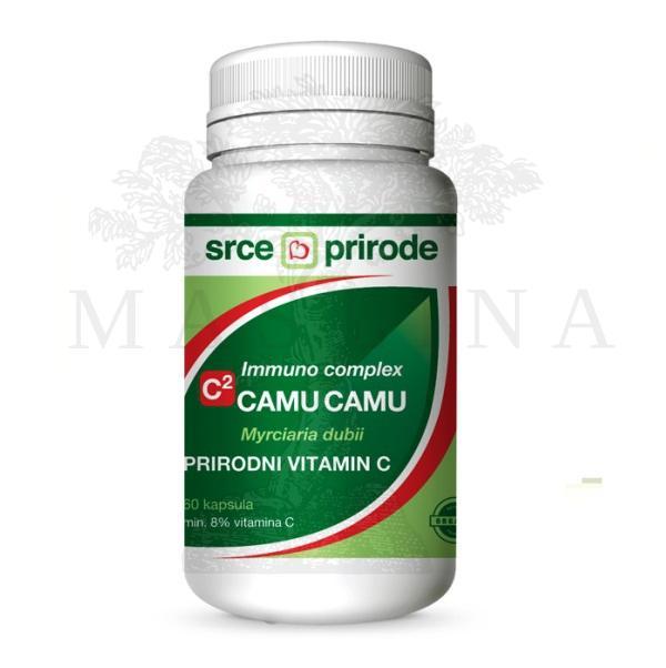 C2 Camu Camu 60 kapsula  Prirodni organski vitamin C