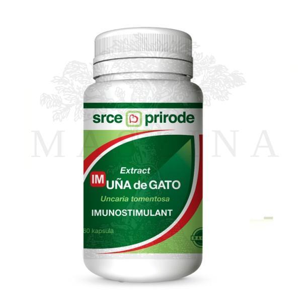ImUNA de GATO Ekstrakt - imunostimulans kapsule 60 kom