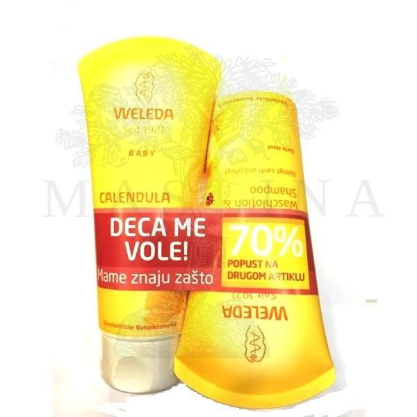 Weleda PROMO šampon i gel od nevena 2x200ml