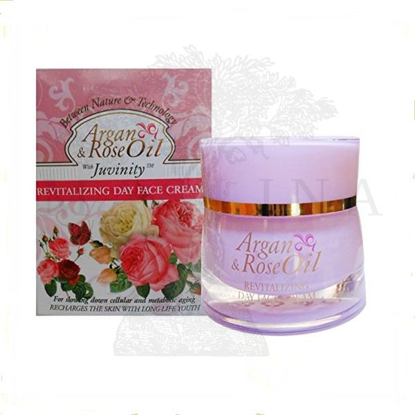 Argan & Rose Oil revitalizirajuća dnevna krema za lice 50ml