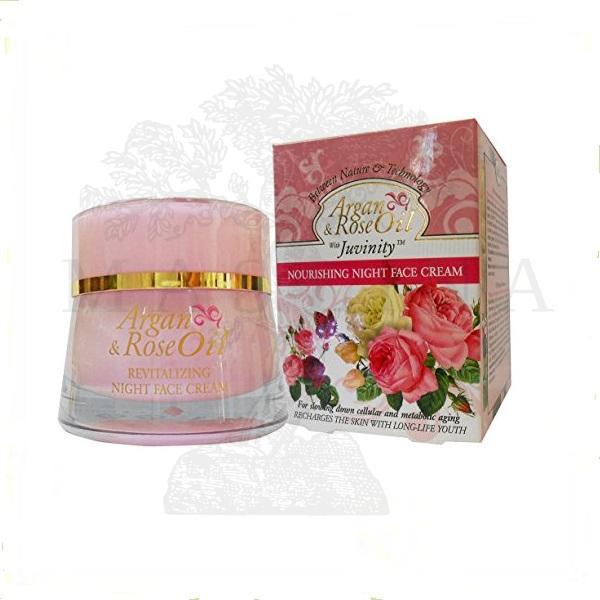 Argan & Rose oil hranljiva noćna krema 50ml